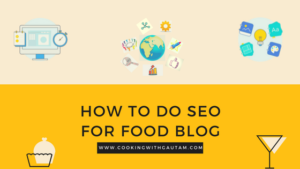 How to do SEO for food blog